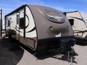 Example of a Light weight RV travel trailer