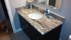 Bathroom sink or vanity reno